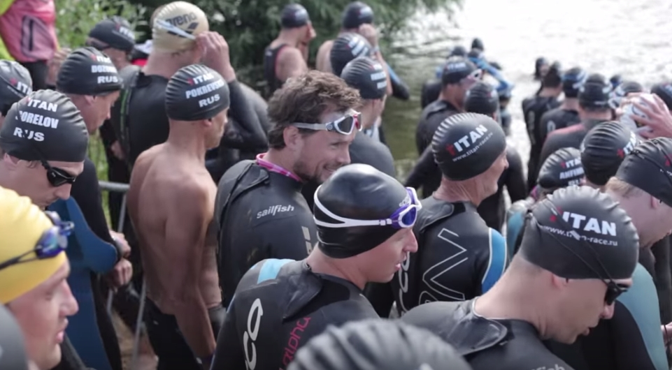 старт плавания