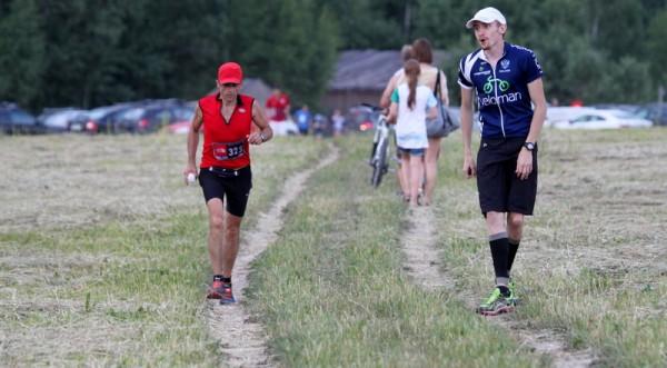 The Nort Face Trail Run последние метры