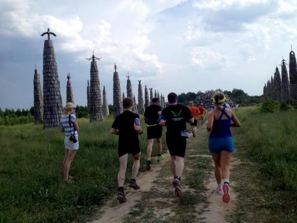 The Nort Face Trail Run первые км бега