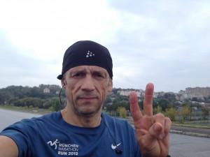 Наконец-то пробежал 42 км на тренировке.