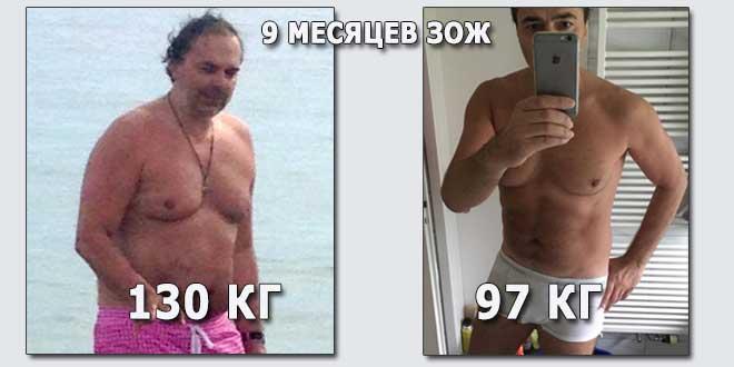 История успеха Александра. 9 месяцев ЗОЖ